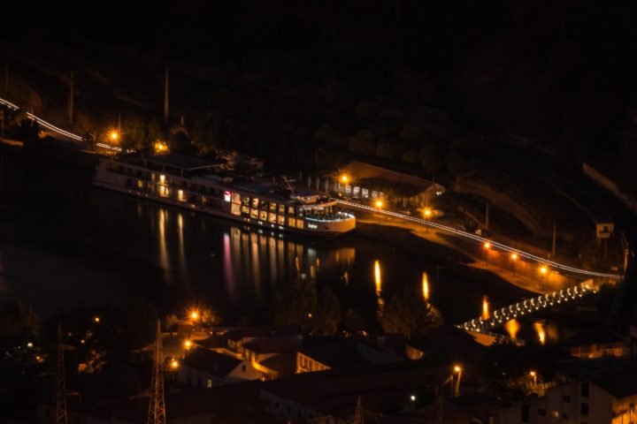 Douro river in the evening