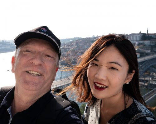 José with ShinAe Nam in Serra do Pilar belvedere