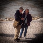 Mike & Patricia Poulter in Lisbon