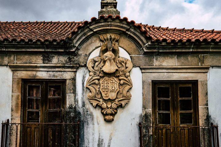Old Palace in Trevões Village