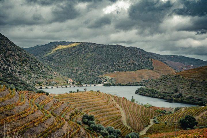 Douro river in Ferradosa